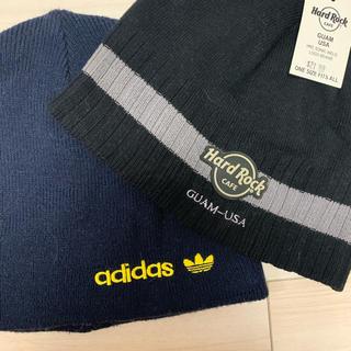 adidas - Hard Rock Cafe とadidas ニット帽
