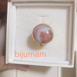 ビジュマム bijumam ストーンリング(リング(指輪))