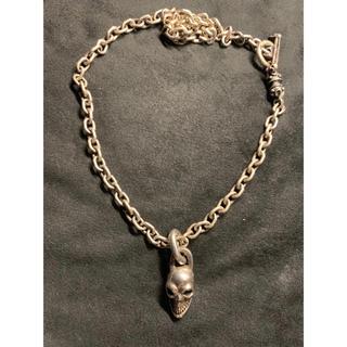 ガボール(Gabor)のガボラトリー シングルスカル & スモールローラー ネックレス(ネックレス)