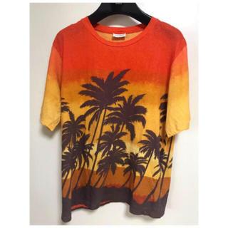 Saint Laurent - 16SS サンローランパリ パームツリー Tシャツ XS