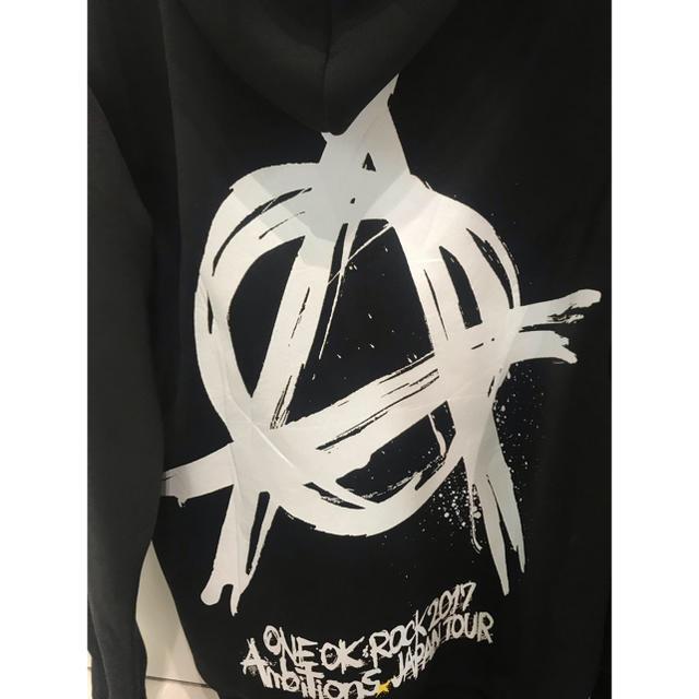 ONE OK ROCK(ワンオクロック)の値下げ ONE OK ROCK  Ambitions  プルオーバー  M メンズのトップス(パーカー)の商品写真