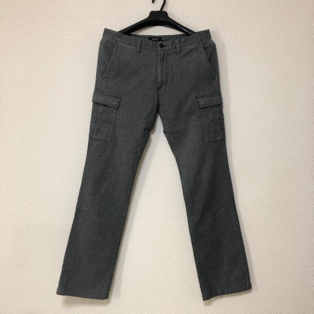 BURBERRY BLACK LABEL(バーバリーブラックレーベル)のBURBERRY BLACK LABEL サイドポケット付 パンツ メンズのパンツ(チノパン)の商品写真