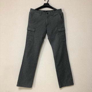 BURBERRY BLACK LABEL サイドポケット付 パンツ