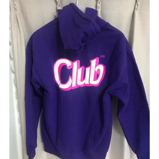 アンチ(ANTI)のANTI SOCIAL SOCIAL CLUB Purple Hoodie(パーカー)