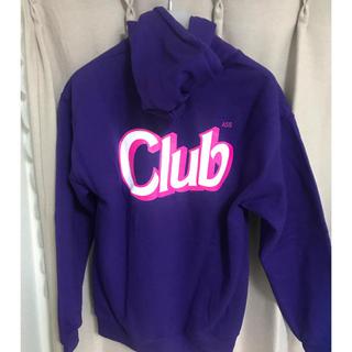 アンチ(ANTI)のANTI SOCIAL SOCIAL CLUB Purple Hoodie(パーカー)