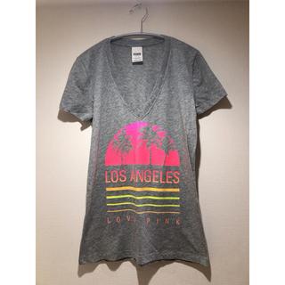 ヴィクトリアズシークレット(Victoria's Secret)のPINK Victoria's Secret ロサンゼルス限定Tシャツ(Tシャツ(半袖/袖なし))