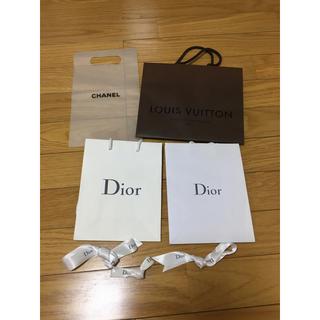 Dior - Dior、LOUISVUITTON、CHANEL★紙袋、袋