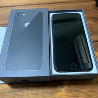 iPhone - iPhone 8 Space Gray 64 GB SIMロック解除済★超美品!