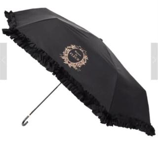 Maison de FLEUR - メゾンドフルール 日傘  雨傘 ブラック