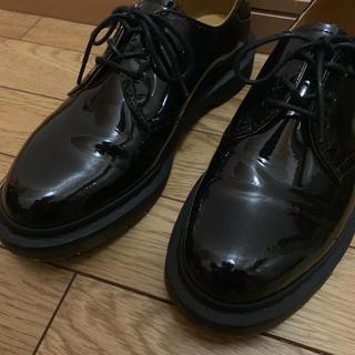 ドクターマーチン(Dr.Martens)のDr.Martens×BEAMS/別注 パテント 3ホール(ローファー/革靴)