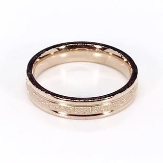 ★新品★レディース リング 指輪 シンプル ローズゴールド 661(リング(指輪))