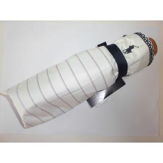 ポロラルフローレン(POLO RALPH LAUREN)の☆新品☆RALPH LAUREN /ポロラルフローレン /折畳雨晴 UV99%白(傘)