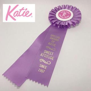 ケイティー(Katie)のKatie♡パープルロゼット ゆめかわいい(ブローチ/コサージュ)