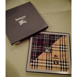 BURBERRY - BURBERRY ハンカチ メンズ