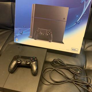 PlayStation4 - ps4  本体 中古 ジェットブラック 500GB