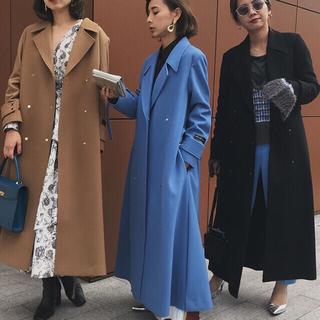 アメリヴィンテージ(Ameri VINTAGE)の新品タグ付きキャメル色コート(ロングコート)