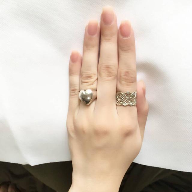 KAORU(カオル)のKAORU ハーベスリング k10グリーンゴールド13号 レディースのアクセサリー(リング(指輪))の商品写真