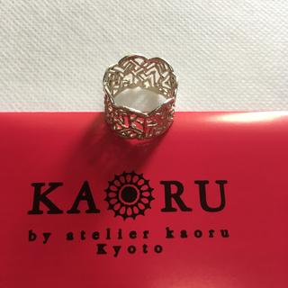 カオル(KAORU)のKAORU ハーベスリング k10グリーンゴールド13号(リング(指輪))