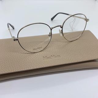 マックスマーラ(Max Mara)の新品 定価3万 Max Mara メガネ 正規品 限定 眼鏡 伊達 サングラス(サングラス/メガネ)