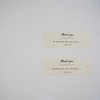 サンキューカード 結婚式(カード/レター/ラッピング)