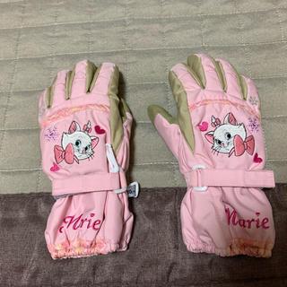 ディズニー(Disney)のスキー用手袋 130 女児用 マリーちゃん Disney(ウエア/装備)