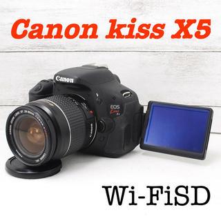 Canon - ❤️シャッター回数わずか1377枚❤️自撮り❤️Canon kiss X5