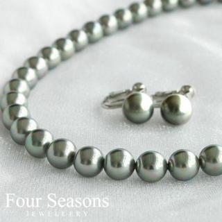 ✨大人気‼️✨ 冠婚葬祭 パールネックレス 花珠 本真珠貝パール ネックレス