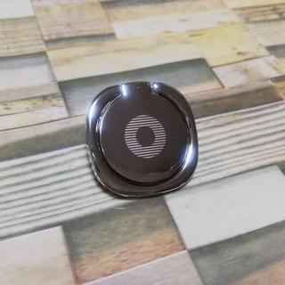 スマホリング 薄型 シルバー マグネット対応(iPhoneケース)