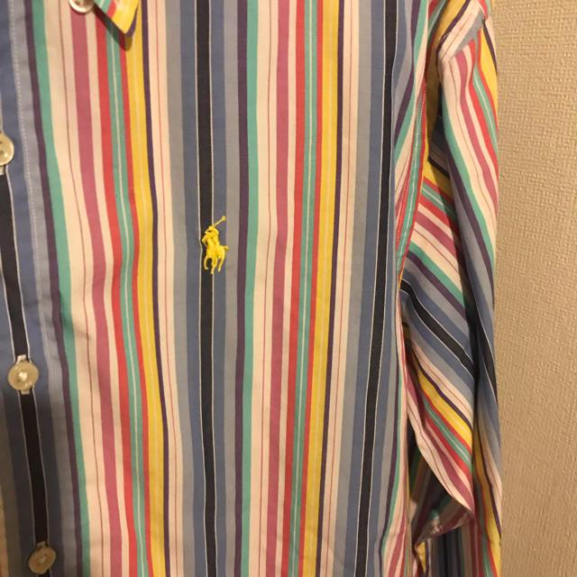 Ralph Lauren(ラルフローレン)のラルフローレン ストライプシャツ レディースのトップス(シャツ/ブラウス(長袖/七分))の商品写真