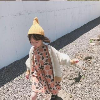 ザラキッズ(ZARA KIDS)の【❣残りわずか❣】レトロFLOWERワンピース(ワンピース)