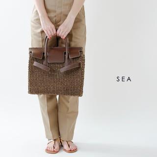 シー(SEA)のSEA カゴバック 2018 M(かごバッグ/ストローバッグ)