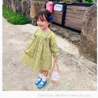 ザラキッズ(ZARA KIDS)の⋈秋新作 小花柄ワンピース(ワンピース)