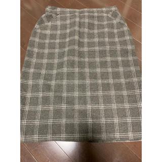 イッカ(ikka)のタイトスカート(ひざ丈スカート)