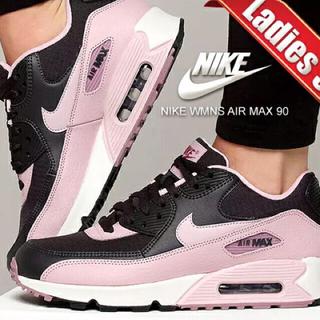 NIKE - ナイキエアマックス90 24.0 ピンク 美品