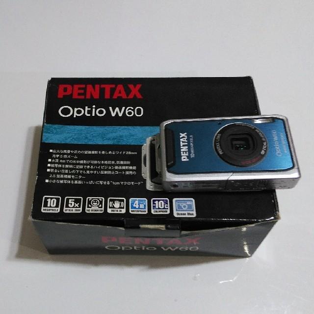 PENTAX(ペンタックス)のPENTAX Optio W60 スマホ/家電/カメラのカメラ(コンパクトデジタルカメラ)の商品写真