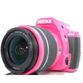ペンタックス(PENTAX)の【美品】ピンク一眼レフカメラ(デジタル一眼)