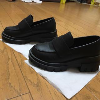 ユメテンボウ(夢展望)の売り切り希望【夢展望】厚底ローファーパンプス Sサイズ(ローファー/革靴)