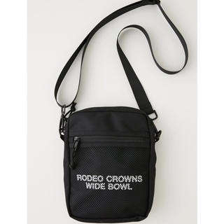 RODEO CROWNS WIDE BOWL - RODEO CROWNS メッシュ ロゴ ポーチ