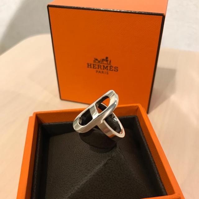 Hermes(エルメス)のHERMES シェーヌダンクル シルバーリング レディースのアクセサリー(リング(指輪))の商品写真