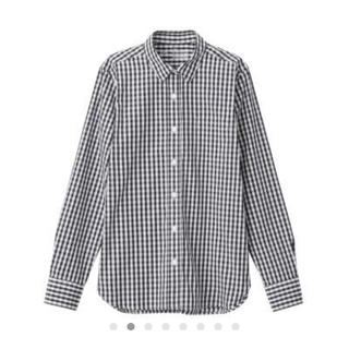 MUJI (無印良品) - 新疆綿洗いざらしブロードギンガムチェックシャツ