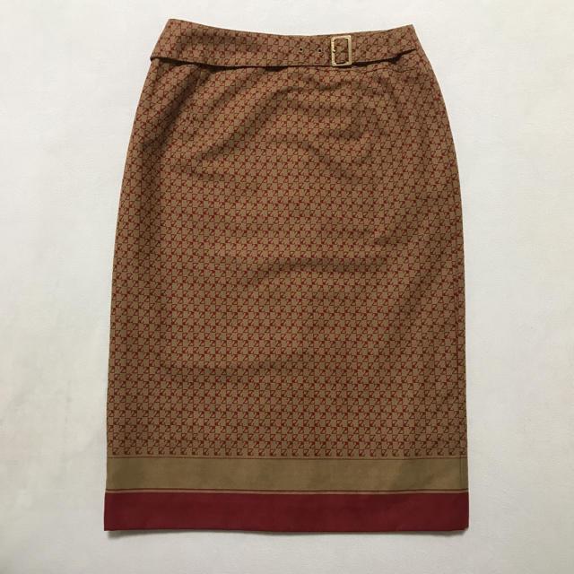 23区(ニジュウサンク)の★23区 モノグラム調 スカート★ レディースのスカート(ひざ丈スカート)の商品写真