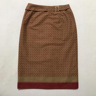 ニジュウサンク(23区)の★23区 モノグラム調 スカート★(ひざ丈スカート)