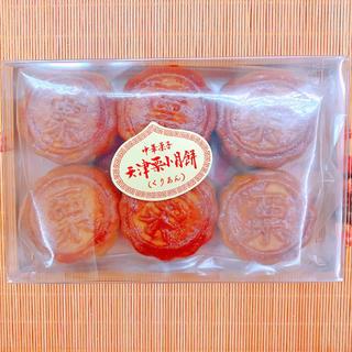 【名称】天津栗小月餅 6個/箱