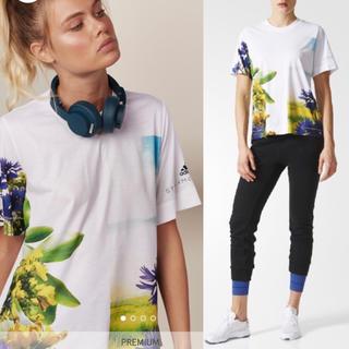 adidas by Stella McCartney - アディダス バイ ステラマッカートニー2017AWプリントTシャツスポーツウェア