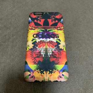 アディダス(adidas)のiPhone6sケース アディダス花柄(iPhoneケース)