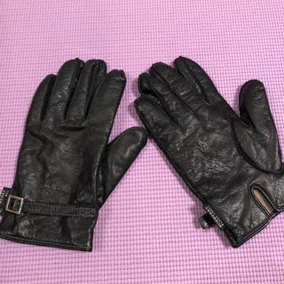 バーバリーブラックレーベル(BURBERRY BLACK LABEL)のバーバリー メンズ手袋(手袋)