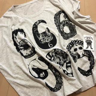 【ヒグチユウコ】【ボリス雑貨店】Tシャツ 666