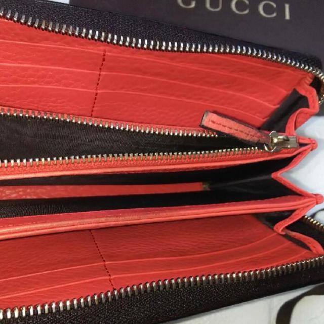 Gucci(グッチ)の【極美品】GUCCIグッチラウンドファスナー長財布 レディースのファッション小物(財布)の商品写真