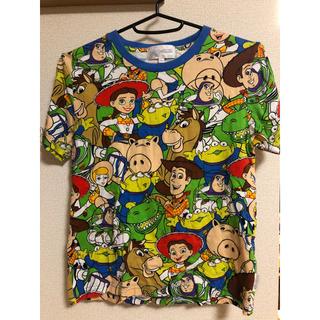 Disney - ディズニーリゾート トイストーリー総柄Tシャツ