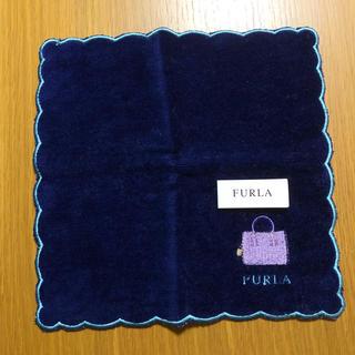 Furla - FURLA フルラ 刺繍入りハンカチ